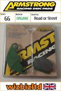 Cagiva Wmx 250 1989 [armstrong Rear Brake Pads] [gg-series]