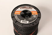 Echo 330095073 .095 Black Diamond Trimmer Line Spool 885and039 Square Twisted