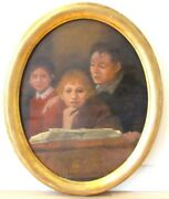 Listed Leonid Ossipowitsch Pasternak 1862-1945/ Russian England Oil Painting
