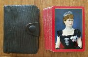 Congress 606 Antique 1902 Princess Mary Regal Series Wide Named Playing Cards