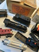 1950 Lionel Train Outfit 1463w 027 With Magne Traction Freight Train Set