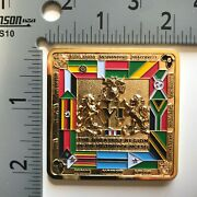 Badge Coin Police Marine Security Guard Detachment Embassy Msg Det Africa