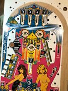Bally Playboy Playfield Andldquorare Unfinished / Uncleared Topless Error Playfield
