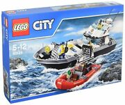 Lego City Police Patrol Boat 60129 Free Shipping With Tracking New From Japan