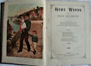 Home Words - A Collection Of Magazines Bound As Book 1896-97andnbsp Louis Wain Prints