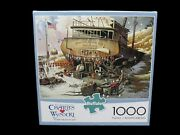 Buffalo Jigsaw Puzzle Charles Wysocki 1000 Pc Where The Bouys Are Complete Usa
