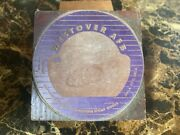 1950s Printer Type Cut Block Westover Afb Air Force Base Chicopee Massachusetts