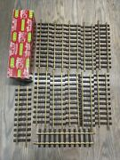 Lgb Lehmann 12x1000 300mm Brass Straight Train Track 12pc G-scale Excellent Cond
