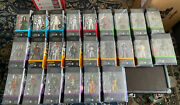 Star Wars Black Series Huge Lot Of 34. Nib. New Release Angled Cases + Deluxe