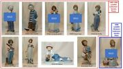 10 Lladro Collector's Society Figurines 1985-1993 And Plaque. Your Choice