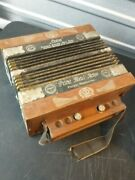 Antique Casino German Accordion . Working Condition. No Rips Or Holes .