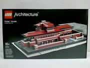Lego 21010 Architecture Architect Series Robie House - Sealed - Excellent Box -