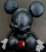 Coach X Disney Large Leather Limited Edition Mickey Mouse Plush Doll H49cm