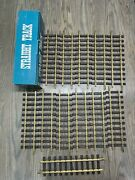 New Lot Of 12 Straight Train Track Ari 7200 G Scale, Compatible With Lgb