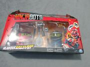 Ninja Bots Hilarious Battling Robots With 6 Weapon 2 Pack Kids Fun Play Toy New