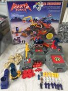 Vintage Bluebird Manta Force Battle Fortress Boxed 80s Complete