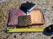Vintage Flato Compact Gold Tone Powder Case W/holder....good Luck