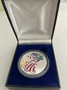2000 Us Mint Proof American Silver Eagle Dollar In Full Color Original Box