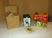 Hopalong Cassidy 1940's Box Camera Made By W. Boyd Galter Productions Complete
