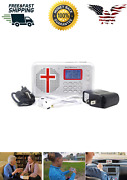 Audio Bible Player King James Version Electronic Rechargeable Ear Bud As Seen Tv