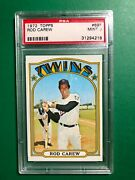 1972 Topps Rod Carew Psa 9 Mint Twins Angels 695 Rare Low Pop - Only 5 Higher