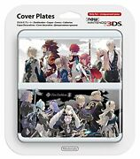 New Nintendo 3ds Cover Plates No.061 Fire Emblem Fates F/s W/tracking Japan New