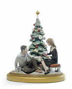 Lladro A Romantic Christmas 01008665 Made In Spain