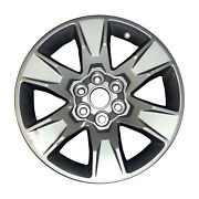 Oem Used 17x8 Aluminum Wheel Painted Silver Fits 2015-2019 Gmc Canyon - 5693