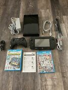 Wii U Console Gamepad And Games Nintendoland And Just Dance 2015