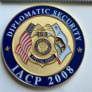 Challenge Coin Badge Iacp Fbi Diplomatic Security Dss Usss Dea State Atf Agentandnbsp
