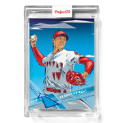 Topps Project 70 Card 385 - Shohei Ohtani By Naturel -presale-