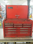 Vintage Snap On 9-drawer Tool Chest Box Cabinet Kra-59