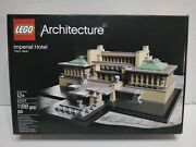 Lego 21017 Architecture Imperial Hotel - Sealed - Box In A Good Cond
