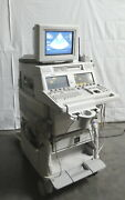 R176953 Hp Sonos 4500 M2424a Ultrasound Imaging System W/ S4 And S12 Probes