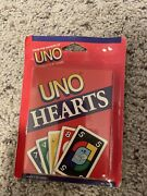 Mattel - Uno Hearts Card Game - Cards Are Sealed Never Opened 1994 New
