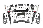 6 Rough Country Vertex Coilover Lift Kit W/ V2 Shocks 55757 For 15-20 F150 4wd