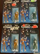 1978 Cosmo-man Micronaut Green And Yellow Time Traveler Vintage M Andd Toys 4
