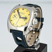 Pasquale Bruni Automatic Chronograph Yellow Dial Arabic Numeral 40mm - 2892a2