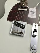 Fender 2021 Collection Traditional 60s Telecaster Roasted Neck Olympic White