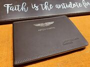 2015 2014 Aston Martin Vanquish Owners Manual Oem Coupe Volante Convertible New