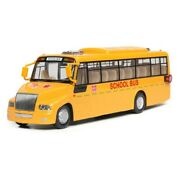 School Bus Models Toy Cars Alloy Light New Openable Doors Sound 132 Scale Toy