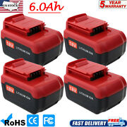14 Pack 18 Volt 6.0ah Lithium Battery For Porter Cable 18v Pc18blx Pc18bl Tool