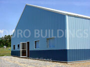 Durobeam Steel 100and039x104and039x22and039 Metal Clear Span Prefab Made To Order Kits Direct