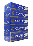 50x Boxes Classic Blue Light 100mm 100and039s 10000 Tubes Cigarette Tobacco
