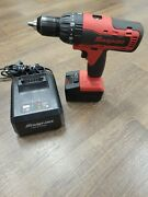 Snap-on 1/2 18v. Cdr8850h Cordless Hammer Drill W/battery And Charger
