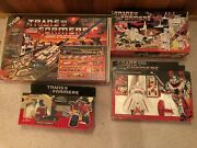 Vintage 1980and039s Transformer Toys