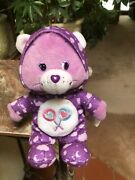 Rare Care Bears 8 Pj Party 2004 Special Edition Share Bear Collectible Plush