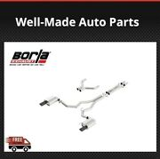 Borla Cat-back Exhaust S-type 140629bc For Mustang Gt 5.0l 2015-2017