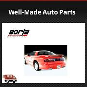 Borla Cat-back Exhaust Fits Camaro Ss 95-97 And Z28 And Firebird/trans-am 5.7l 14555