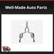 Corsa Performance For Mustang Gtcoupe 5.0l Xtreme Cat-back Exhaust System 14328